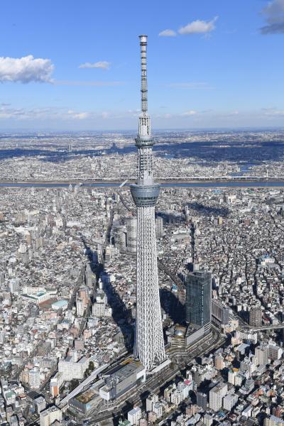 東京スカイツリー=2017年1月