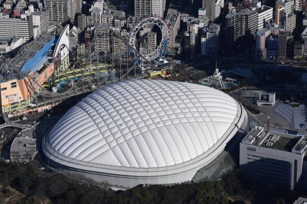 東京ドーム=2017年1月撮影