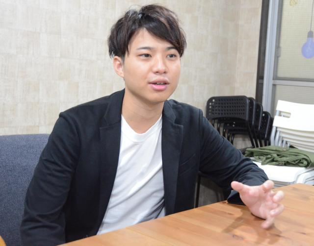 NPO法人「僕らの一歩が日本を変える。」(ぼくいち)の代表理事・後藤寛勝さん(23)