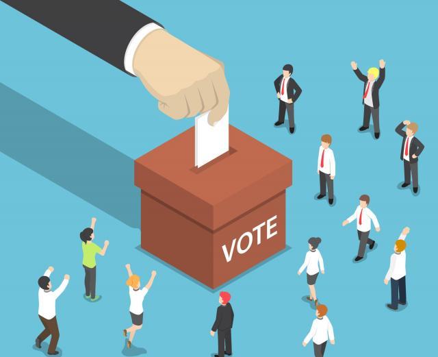 選挙は民主主義の大事なシステム(画像はイメージです)