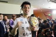 WBAミドル級タイトルマッチに勝ち、新王者となった村田諒太選手