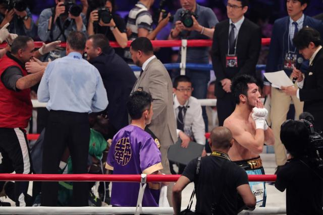 5月の王座決定戦で「不可解な判定」で敗れた村田選手