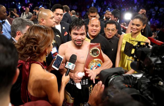 フィリピンの英雄マニー・パッキャオ選手
