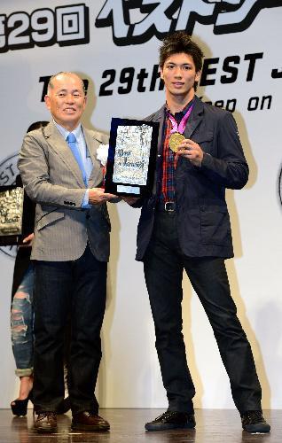 「ベストジーニスト2012」を受賞した村田諒太選手
