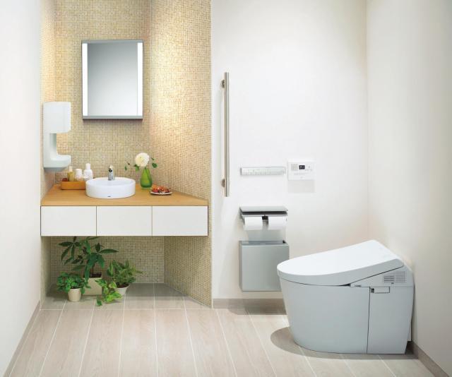「音姫」が設置されたトイレ