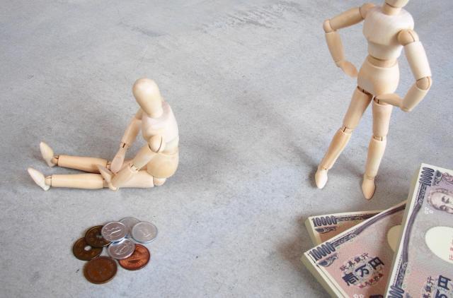 極端な貧困の人の方が、支援を受けやすい(画像はイメージです)