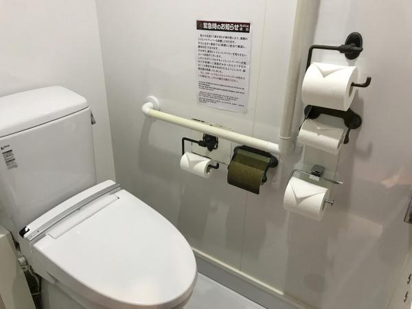 一蘭本社総本店のトイレ