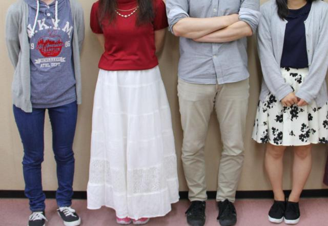 経済的に苦しい家庭で育った若者たち(1人は撮影NG)