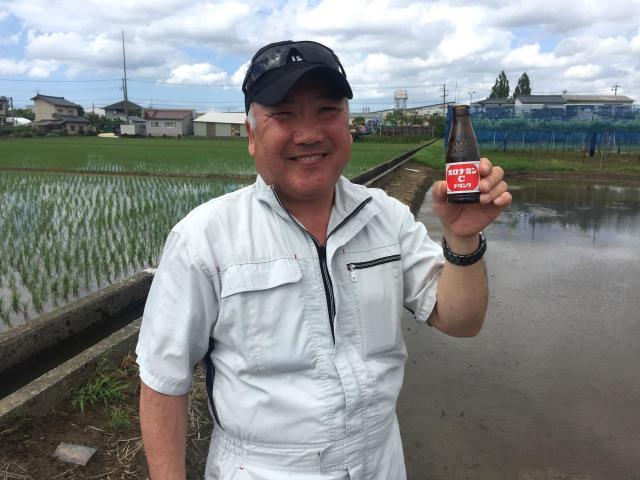 「日本で一番おいしく米を研げます」と自信を見せる坪谷利之さん