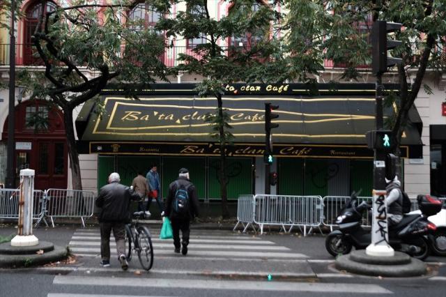 コンサートホール「ルバタクラン」=10月24日、フランス・パリ、竹花徹朗撮影