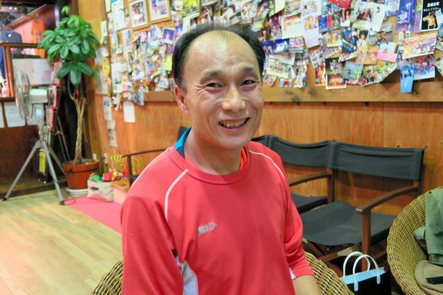 「息子に見せたくて」ときっかけを語る、西田泰敬さん