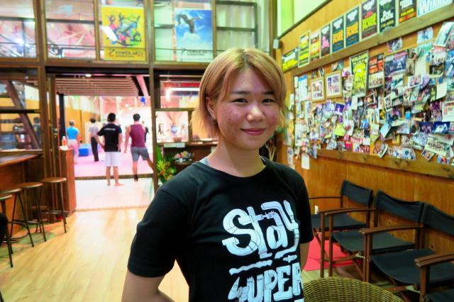 アクション女優という夢をみつけた、岩谷愛友星さん
