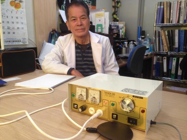 タカダイオン電子治療器と野中社長