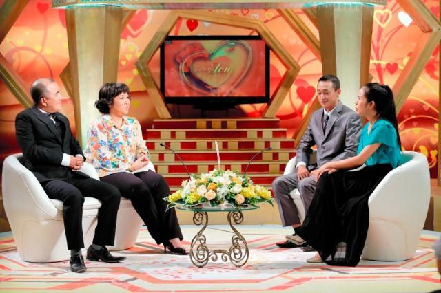 ベトナム版「新婚さんいらっしゃい!」=朝日放送提供
