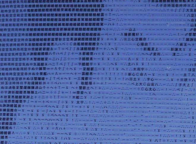 拡大画像を見ると記号や文字が見えます
