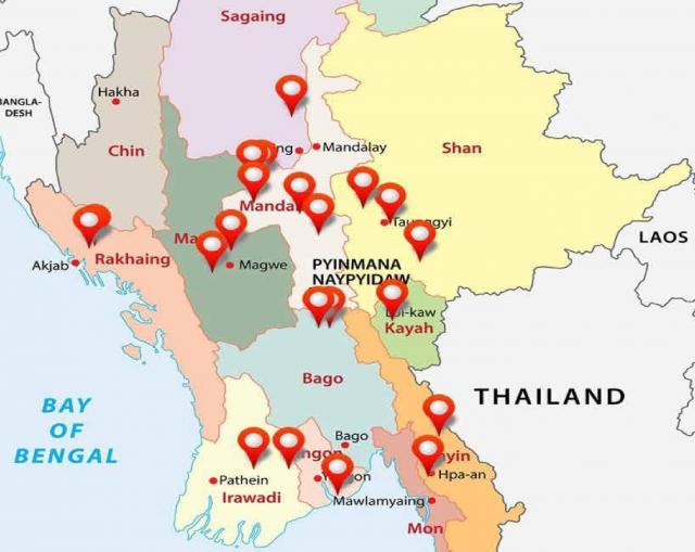 ミャンマー国内には、「イスラム教徒お断り」の看板を掲げた村が20以上もあるという。看板がなく、入村禁止にしている村は、さらに多くあるとみられている