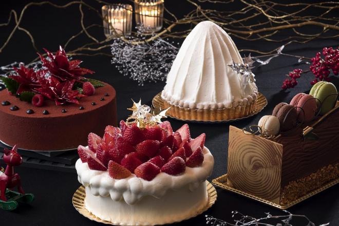 名古屋観光ホテルのクリスマスケーキ2017。もちろん「苺のサンタパレード」以外もあります