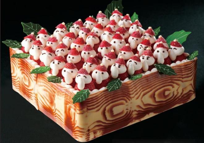 クリスマスケーキ「苺のサンタパレード」