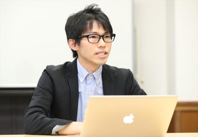 高宮秀典さん=東京都文京区、関田航撮影