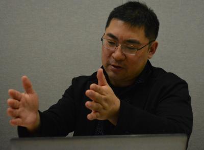 AIと人間の将来について語る三宅陽一郎さん