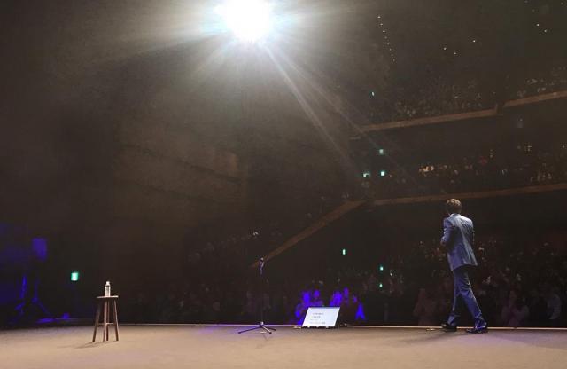 17日に東京国際フォーラムであった、村本大輔さんの独演会「ウーマンラッシュアワー村本の大大大演説」