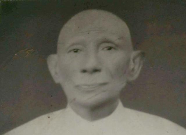 ゾーゾーさんの祖父のサンテインさん。90歳で亡くなった。自宅にカメラがなく、一緒に写った写真は持っていないという