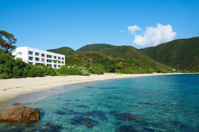 奄美大島にあるリゾートホテル「THE SCENE」