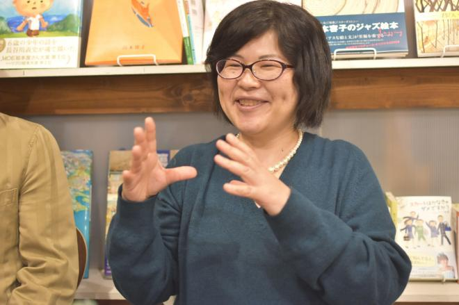 スー女についての著作があるスー女の和田静香さん