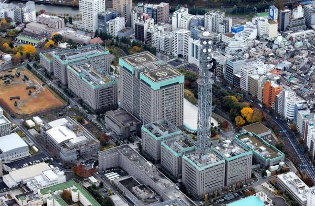 防衛省の庁舎=東京・市谷