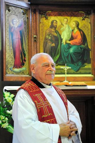 ザビエル家の子孫で今は福岡の教会にいるルイス・フォンテス神父