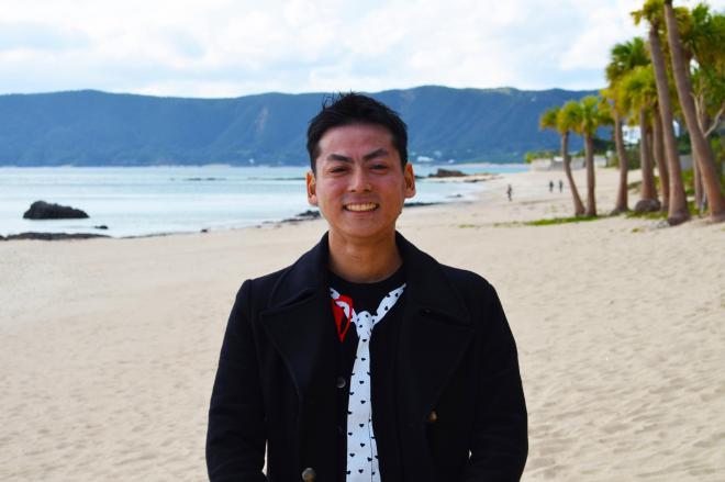 奄美市でフリーランスとして働く田中さん
