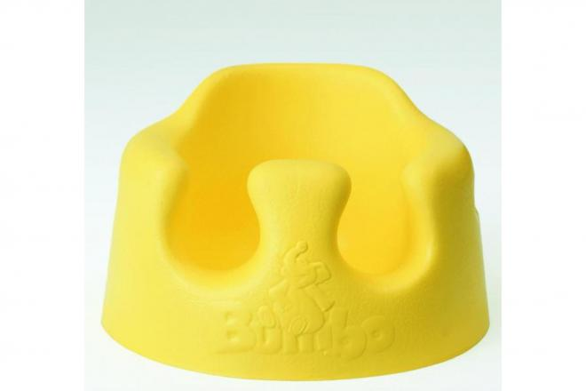 ベビー椅子の定番「バンボ」。南アフリカから船便でやってくるという