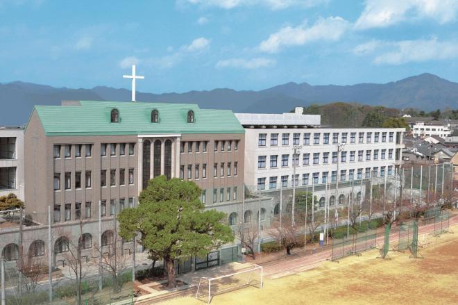 こちらが洛星中学校・洛星高等学校