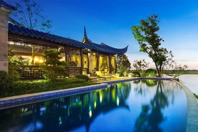 中国に現れた160億円の大豪邸
