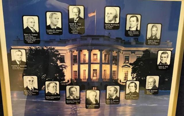 フリーメイソン会員だったアメリカ歴代大統領の一覧