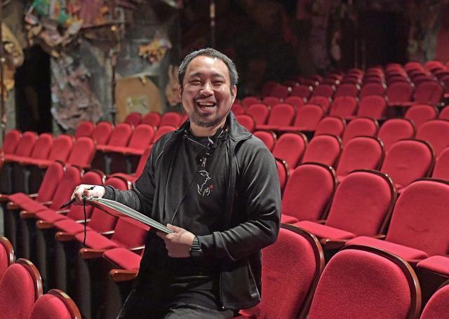 舞台監督の福永泰晴さん