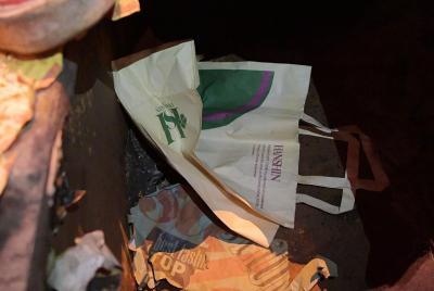 阪神百貨店ロゴ入り紙袋