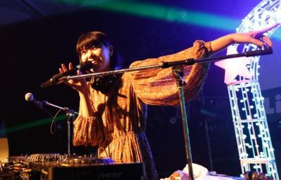 2017年12月、苗場プリンスホテルで開催されたイベントでは、MeguさんのDJプレイも披露された