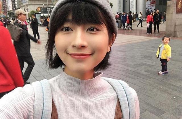 新垣結衣さんに似ていると話題になった中国・上海に住む大学生の栗子さん