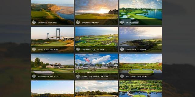 トランプ氏が所有するゴルフ場の数々
