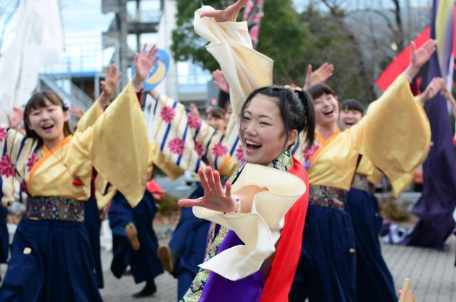 2017年12月、7年ぶりに福島県浪江町で復活した「よさこい」