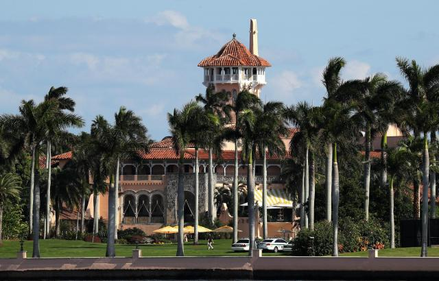 トランプ氏が所有する別荘「マール・ア・ラーゴ」=2016年11月、アメリカ・フロリダ州