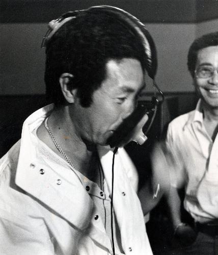 北島三郎さん=1982年7月