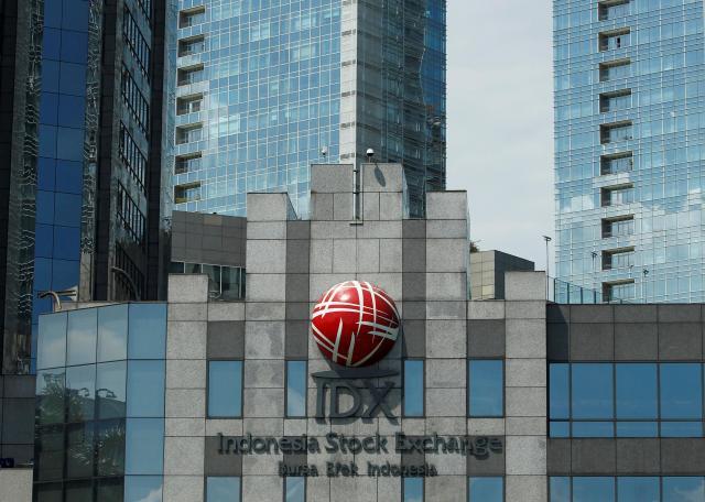 ジャカルタ証券取引所の建物=2016年6月23日