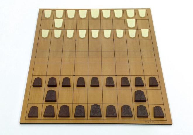 40駒セットには将棋盤も付属します