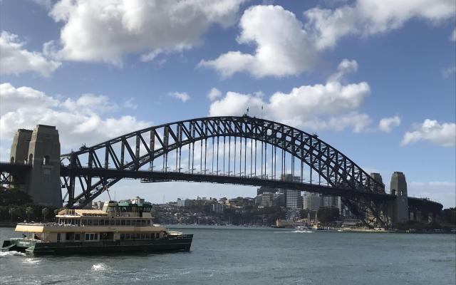 シドニーのシンボル、ハーバーブリッジ