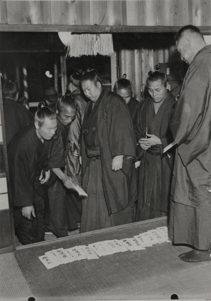 幕内力士が相撲道の改革や待遇改善を求めて大量に協会から脱退した春秋園事件=1932年