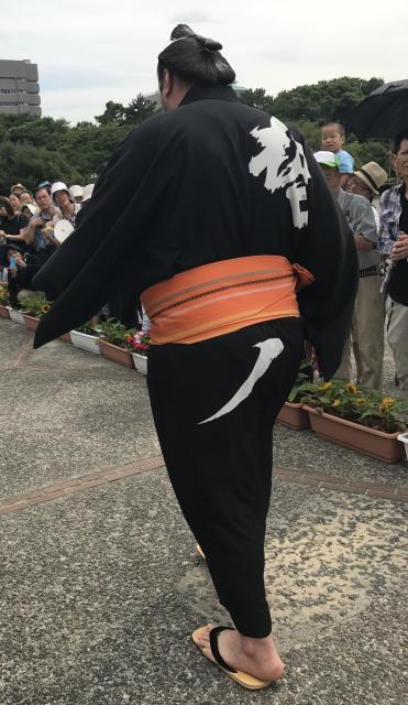 2017年7月、名古屋場所