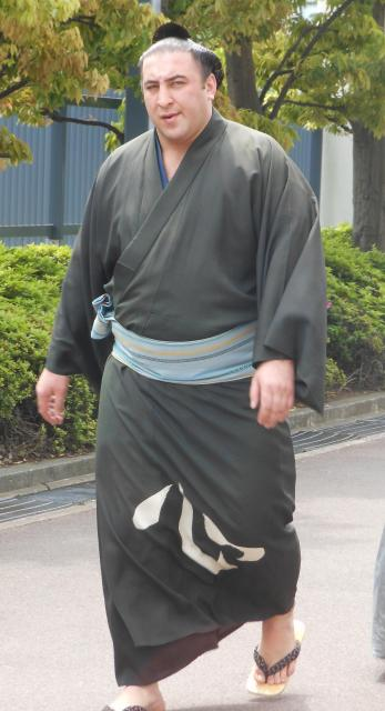 2012年夏場所の栃ノ心関=両国国技館
