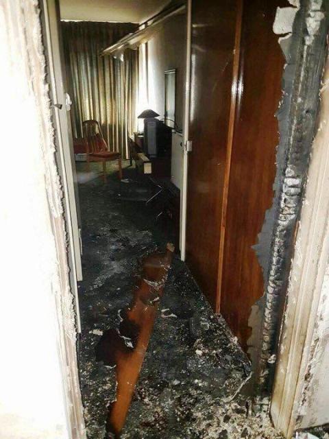 アフガニスタンの首都カブールで襲撃を受けたインターコンチネンタルの客室